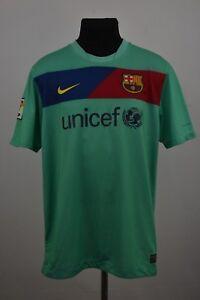 Image is loading BARCELONA-SPAIN-2010-2011-AWAY-FOOTBALL-SHIRT-JERSEY- bf8476f12a3b4