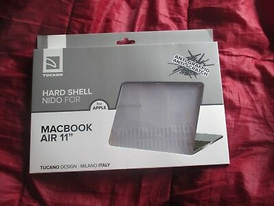Transparent Tucano Nido Hard-Shell Case 11 Macbook Air