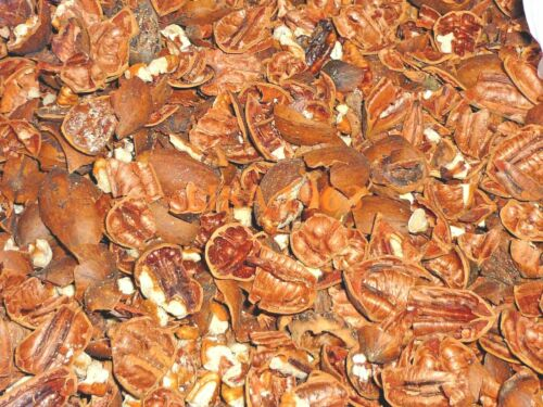 Pecan shells hull cooking BBQ mulch compost acid plants organic material 1 lb