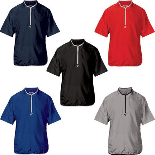 Easton M5 Youth Boy/'s Short Sleeve Cage Baseball Athletic Jacket A167 634
