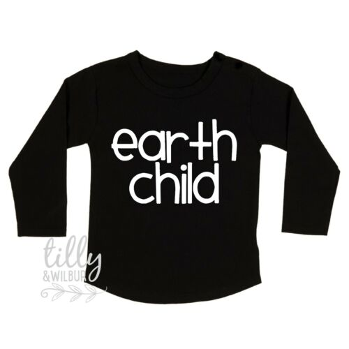 Environment Planet Kindness Earth Child Unisex Child/'s Long Sleeve T-Shirt