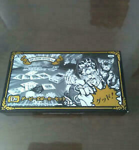 Darby S Poker Set Jojo S Bizarre Adventure Playing Cards Ichiban Kuji Ebay