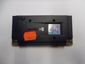 Intel Pentium II Processor 266 MHZ, 512 KB Cache, 66-MHz-FSB, #SU214