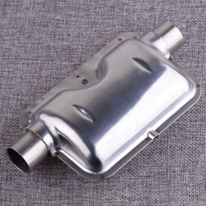 Stainless-Steel-Car-Heater-24mm-0-9inch-Exhaust-Silencer-Muffler-Pipe