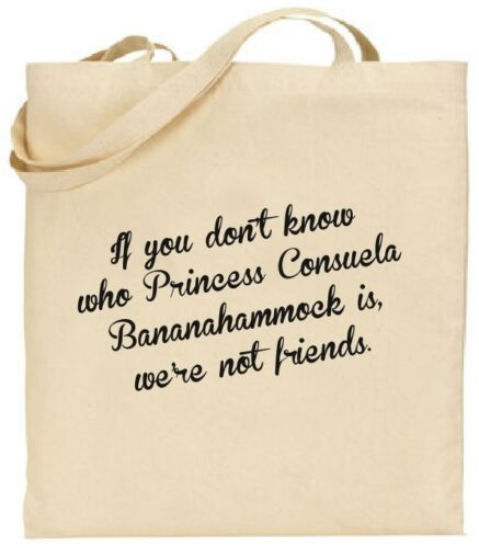 Princess Consuela Bananahammock Friends Tote Bag