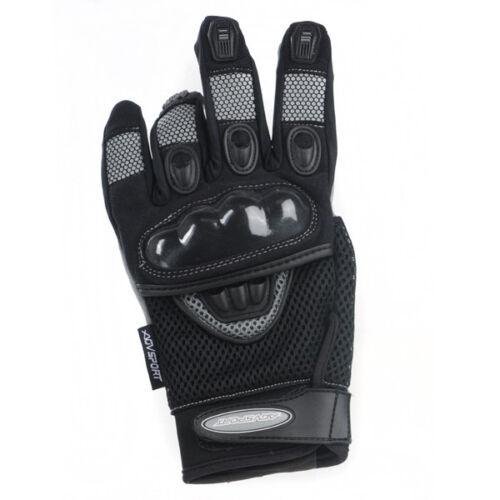 New AGVsport Mayhem Motorcycle Gloves Mesh Hard Knuckle Clarino synthetic palm