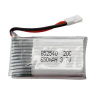 Replace Fr Rc Quad Helicopter 650mah Li-po Spare Backup 3.7v 20c Battery Pcb