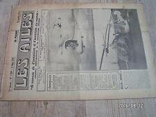 "1µ?  Revue Les Ailes ""Monde Aviation"" n°1309 Hiller Hornet Pulso arsenal Esc-375"