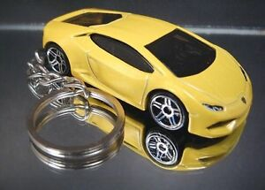 Yellow Lamborghini Huracan Lp610 4 Key Chain Ring Ebay