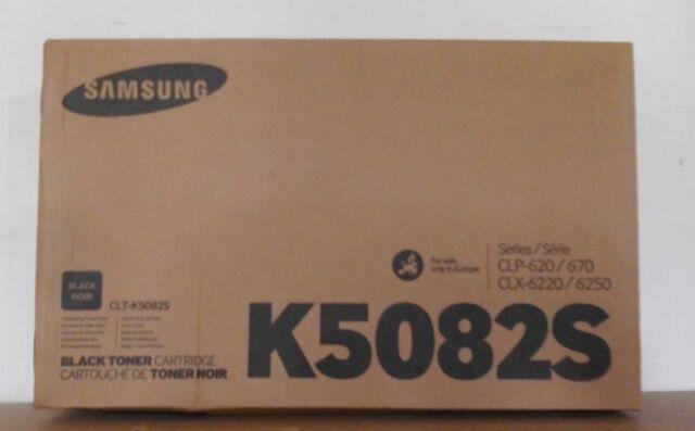 Original Samsung CLT-K5082S Toner black für CLP 620 670 CLX 6220 6250  OVP B