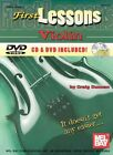 First Lessons Violin 9780786625826 by Dr Craig Duncan
