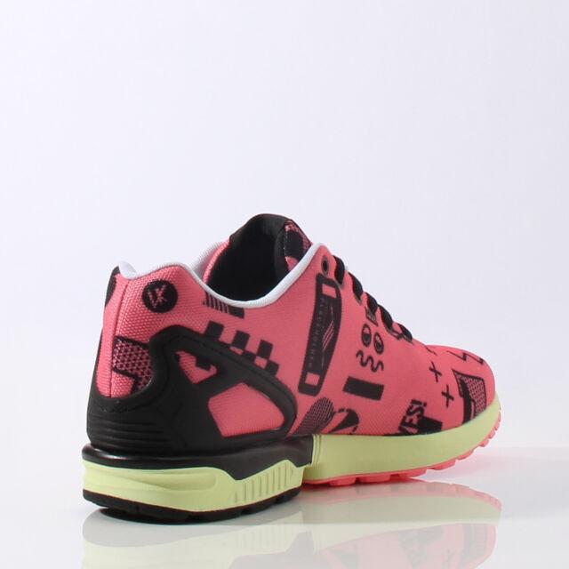 on sale cdb2b 340f2 adidas ZX Flux Place Holder Running 8000 Torsion Boost Gym Shoes Mens Sz 12