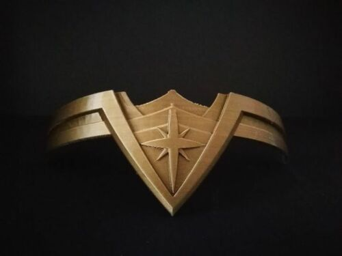 Perfect gift for birthdays o for your girlfriend Wonder Woman Gold Tiara
