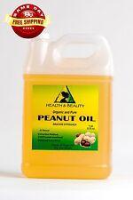 PEANUT OIL UNREFINED ORGANIC by H&B Oils Center COLD PRESSED PREMIUM PURE 7 LB