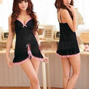 Babydoll-Chemise-Dress-Racy-Dress-Thongs