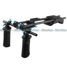 FOTGA DP3000 15mm Rod Baseplate+Shoulder Pad+Handle Grip Support Rail System Rig