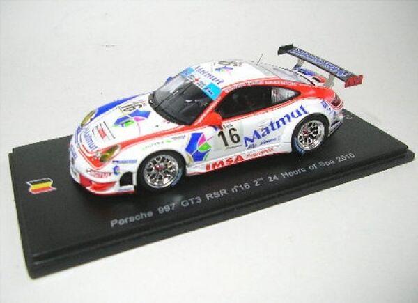 Porsche 997 gt3 rsr nº 16 24 H Spa Spa Spa 2010 dbb603