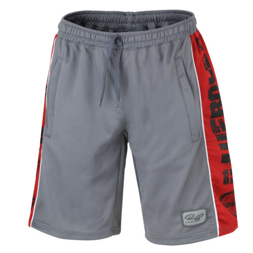 "Raufbolde Streetwear Mesh Short /""Iron/""  Gray Grau Bodybuilding Fitness"