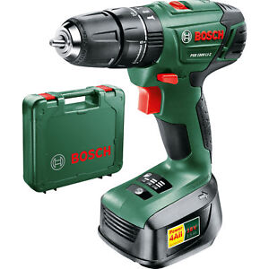 Bosch-18v-Lithium-Ion-Cordless-Combi-Drill-Battery-Charger-amp-Case-PSB-1800-LI-2