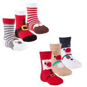 baby girls boys unisex novelty xmas socks babies