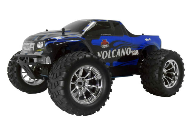 Rc Trucks Gas Powered Cars Nitro Fuel 4x4 Monster Truck Redcat Volcano S30 Red For Sale Online Ebay