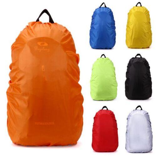 Travel Hiking Backpack Waterproof Dust Rain Cover Camping Rucksack Bag 5 Sizes