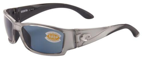 Costa Del Mar Corbina Sunglasses CB-18-OGP Silver Frame 580P Grey Polarized Lens
