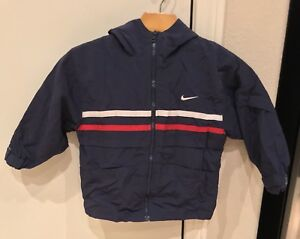 Details about VINTAGE 90's Nike Air Zip Windbreaker Jacket Youth Size Small