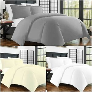 Luxury-Bedding-400-Thread-Count-Duvet-Quilt-Cover-Set-Fitted-Sheet-Pillow-Cases
