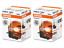 2X Osram Original Spare Part Halogen OE HB3 9005 Low Beam High Beam 12V 60W