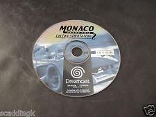 Sega Dreamcast Game Monaco Grand Prix Racing Simulation 2 Disc Only