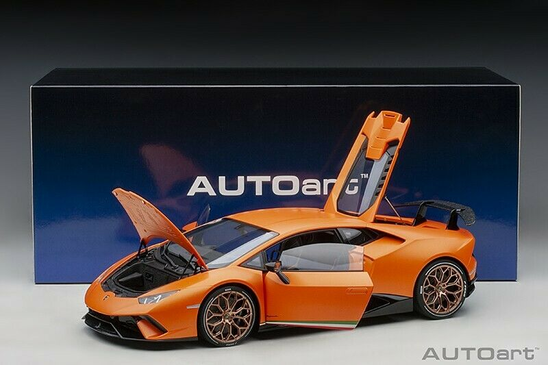 Autoart LAMBORGHINI HURACAN PERFORMANTE ARANCIO ANTHEUS MATT Orange 1 12 New