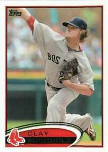 2012-Topps-247-Clay-Buchholz-Red-Sox-NM-MT