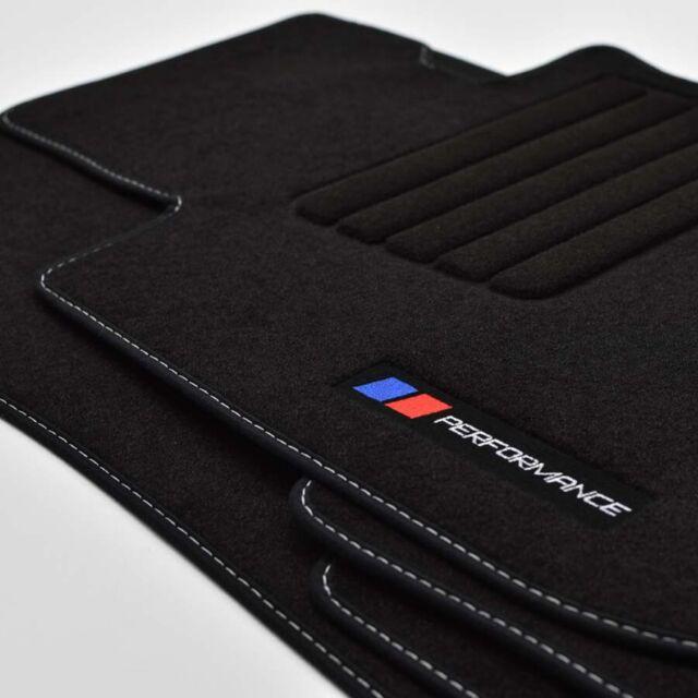 E71 4x Klett Automatten Fußmatten BMW X6 Original Qualität Velours