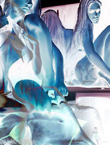 Transparent erotic art