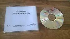 CD BAMBINI Volker Rosin-nostro bambino è un hit (1) canzone PROMO karusell SC