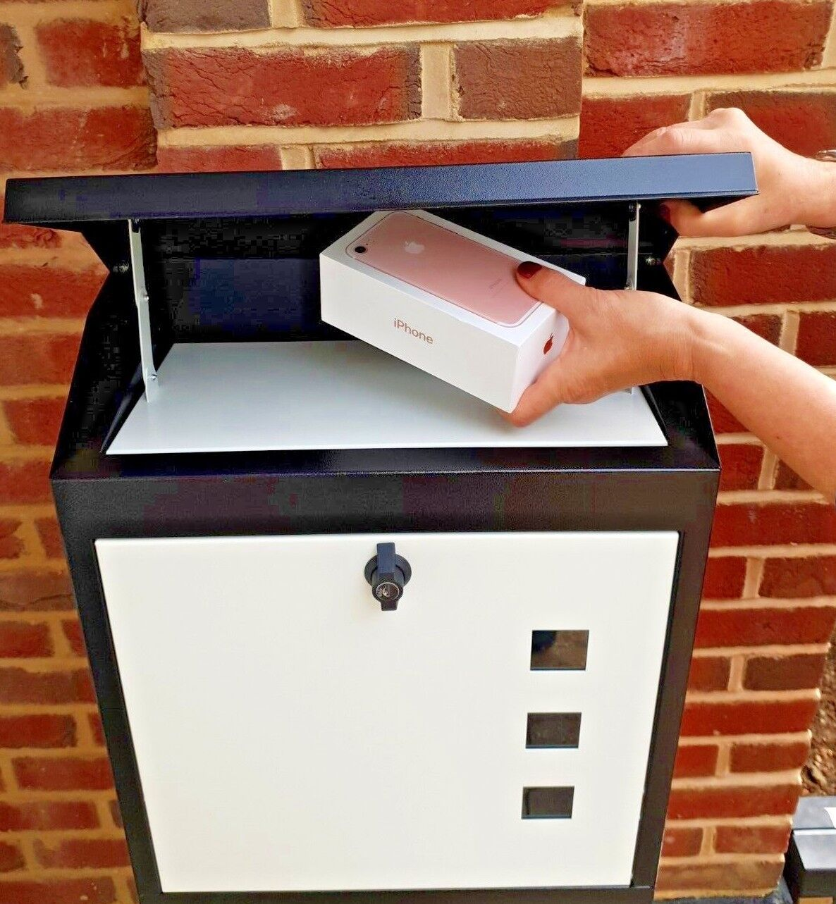 LARGE PARCEL BOX LETTERBOX  - NEVER MISS AN EBAY OR AMAZON DELIVERY AGAIN