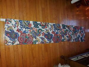 "Waverly Home Fashions Greenfield Jacobean Willamsburg Window Valance 15"" x 74"""