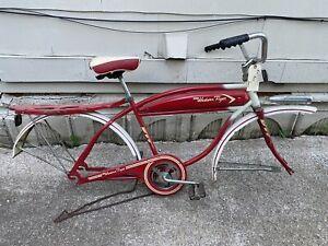 Western Flyer Bicycle Original Condition Red No Rims