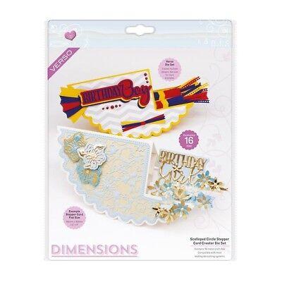 Tonic Studios Dimensions Card Creator Set Die Scalloped Circle Stepper 2308E