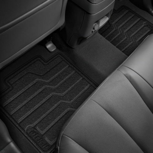 Lund 783051-G Catch-It Carpet Grey Rear Seat Floor Mat Set of 2
