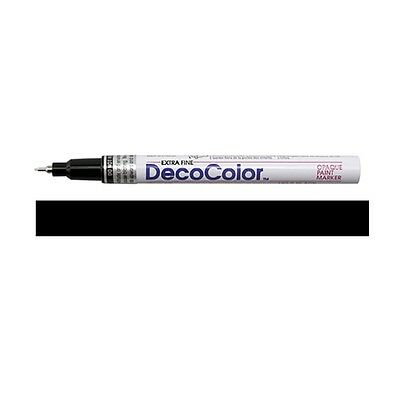 Deco Color Fine Point Glossy Oil base Paint Marker 1//Pkg-Gold Marvy