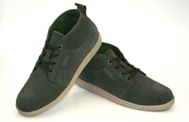 5826aadec3c3 Puma Hawthorne mid Chukka Boots Sneakers Trainers Men s Lace-Up Shoes  351287-07