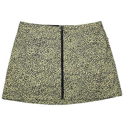 Volcom Womens Frochickie Front Zipper Mini Skirt