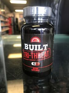 BUILT-Tri-Threat-60-Caps-3-Compound-PH-Stack-Strength-Mass-FREE-SHIPPING