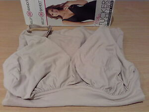 Maternity Clothing Belly Belts, Bands Belly Bandit Mother Tucker Nursing Compression Tank Nude Natural Small
