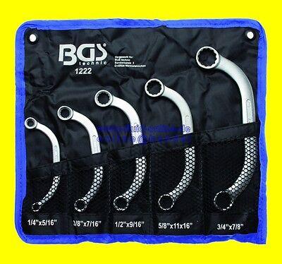 Starterschlüssel Blockschlüssel ZOLL Ringschlüssel 10 Größen Schlüssel Satz BGS