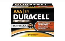Duracell AAA Standard Battery Coppertop Alkaline Pk24 MN2400BKD
