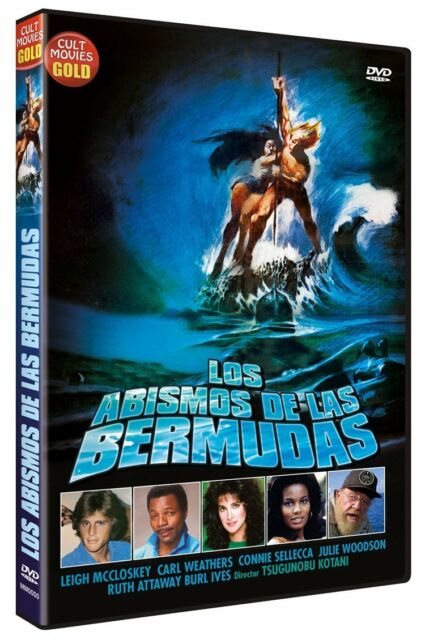 THE BERMUDA DEPTHS **Dvd R2** Leigh McCloskey Carl Weathers Connie Sellecca