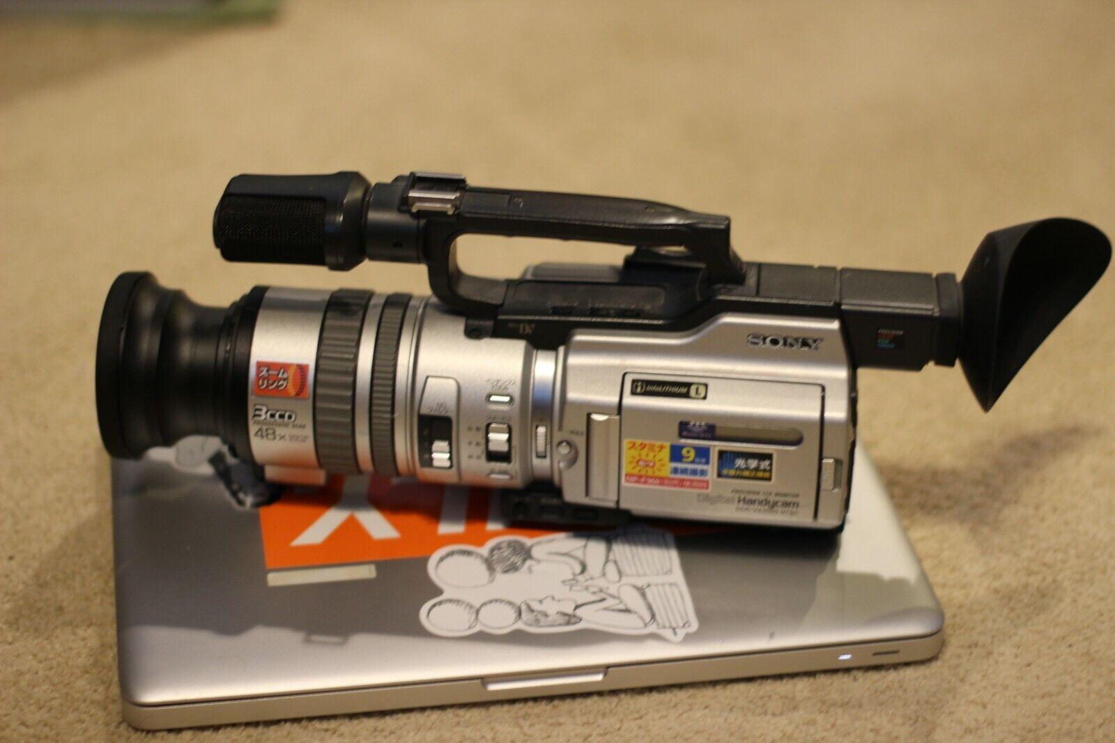 s l1600 - Sony DCR-VX2000 Camcorder (Rare Japan Edition)